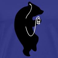 Motiv ~ Der Bär Groovt Männer T-Shirt