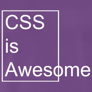 Css is Awesome - T-shirt Premium Homme