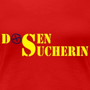 Dosensucherin - 2colors - Women's Premium T-Shirt