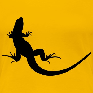 lizard geco geko animal T-Shirts - Women's Premium T-Shirt