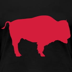 bison bull animal T-Shirts - Women's Premium T-Shirt