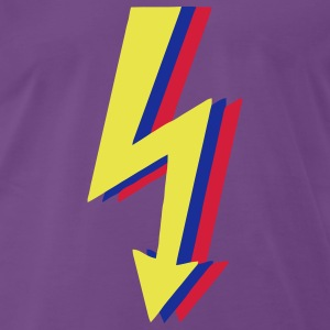 High Voltage, Lyn! T-shirts - Herre premium T-shirt