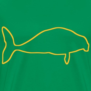 Forest green Giant Seacow T-Shirts - Men's Premium T-Shirt