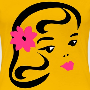 retro girl by Patjila T-Shirts - Women's Premium T-Shirt