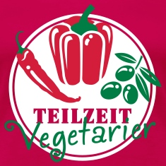 Teilzeit Vegetarier T-Shirts