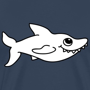 Small white shark T-Shirts - Men's Premium T-Shirt