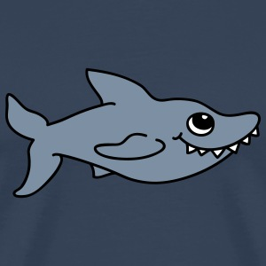 Cute shark T-Shirts - Men's Premium T-Shirt