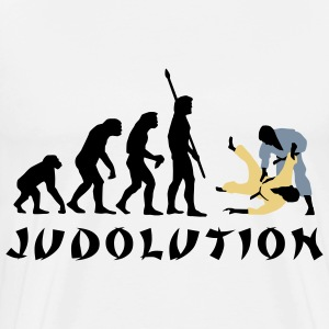 evolution_judo_c_3c T-Shirts - Men's Premium T-Shirt