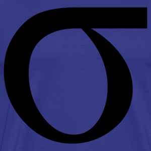 sigma greek T-Shirts - Men's Premium T-Shirt