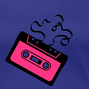 Kassette Bandsalat Audio Tape Tonband Musik Sound Walkman T-Shirts - Frauen Premium T-Shirt