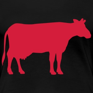 cow animal T-shirts - Premium-T-shirt dam