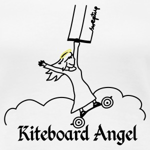 kite board angel T-Shirts - Women's Premium T-Shirt