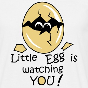 Little Egg is watching you! T-shirt - Maglietta da uomo