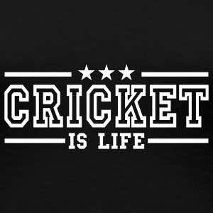 cricket is life deluxe T-shirts - Premium-T-shirt dam