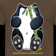 Motif ~ Panda homme marron