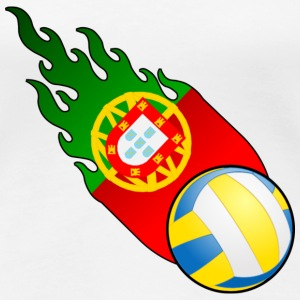 Fireball Volleyball Portugal - Women's Premium T-Shirt