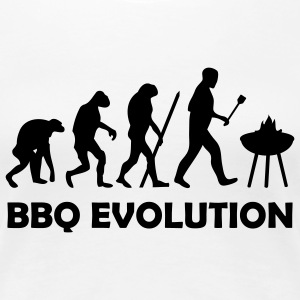 bbq evolution T-Shirts - Frauen Premium T-Shirt