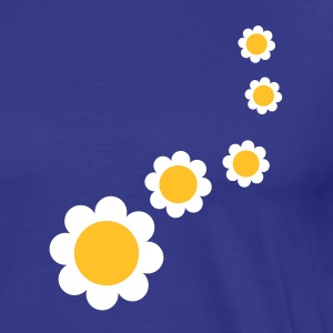 nature_flower_design_2c T-skjorter - Premium T-skjorte for menn