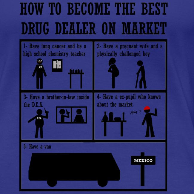 Breaking Bad - how to become the best drug dealer on market