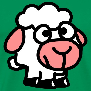 smiley_sheep_3c T-Shirts - Männer Premium T-Shirt
