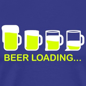 beer_loading_2c T-shirts - Mannen Premium T-shirt