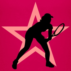 tennis_female_i_2c_star Camisetas - Camiseta premium adolescente