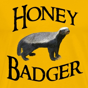Honey Badger T-Shirts - Men's Premium T-Shirt