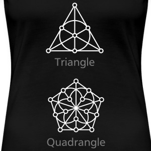 Generalised Polygons T-Shirt - Frauen Premium T-Shirt
