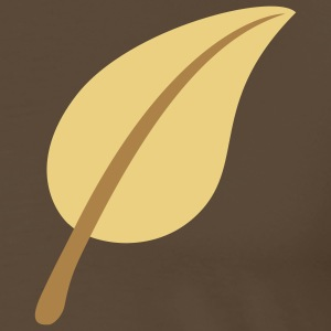 nature_leave_2c T-shirts - Herre premium T-shirt