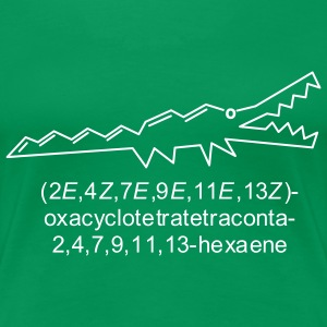Crocene - chemical crocodile T-Shirts - Women's Premium T-Shirt