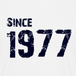 Since 1977 - Mannen T-shirt
