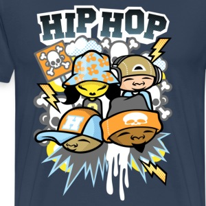 Hip hop colors - T-shirt Premium Homme