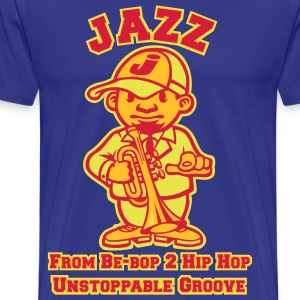 Jazz tribute rouge - T-shirt Premium Homme