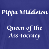 Design ~ Queen of the Ass-tocracy Male t-shirt