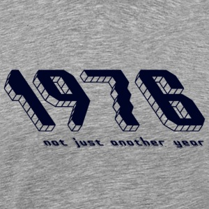 1976, not just another year - Mannen Premium T-shirt