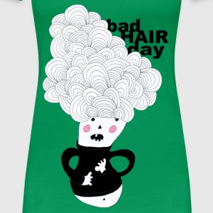 bad hair day T-Shirts - Frauen Premium T-Shirt