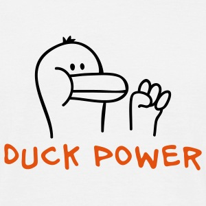 Duck Power T-Shirts - Männer T-Shirt