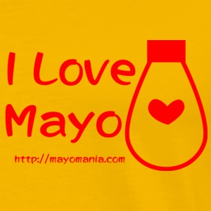 I Love Mayo  T-Shirts - Men's Premium T-Shirt