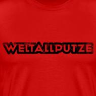 Motiv ~ Weltallputze Grunge schwarz XXXL