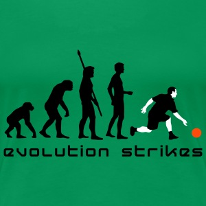 evolution_bowling_player_3c_b Camisetas - Camiseta premium mujer