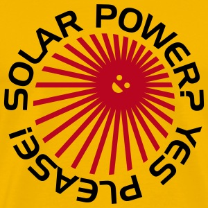 BD Solar Power T-Shirts - Men's Premium T-Shirt