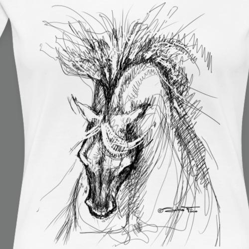 Wild Spirit horse black