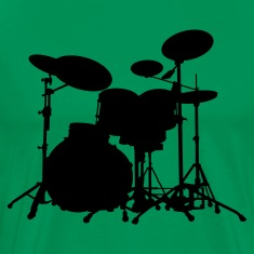 Percussion - Drums - Music - music - band - musician - Rock - Instrument T-Shirt