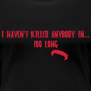 Too long Damon T-shirts - Vrouwen Premium T-shirt