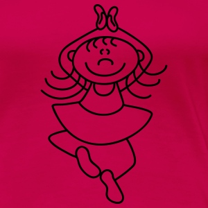 Cute little ballerina T-Shirts - Women's Premium T-Shirt