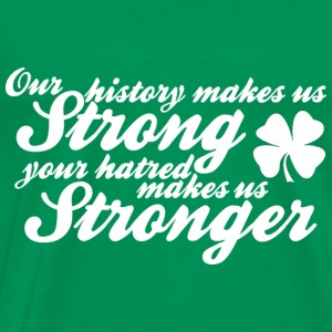 Our History Makes Us Strong