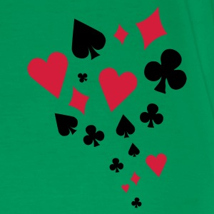 Poker - card game - Skat - Cards - Players - Men's Premium T-Shirt