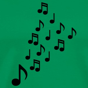 clef - Music - Sheet Music - Musicians - Electro - Club - Disco - Party - DJ - Men's Premium T-Shirt