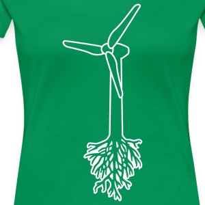 Think Green T-Shirts - Women's Premium T-Shirt