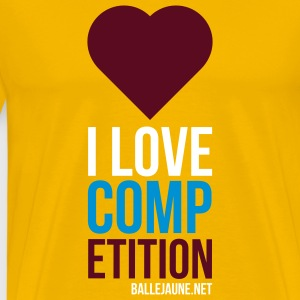 i-love-competition T-shirts - T-shirt Premium Homme